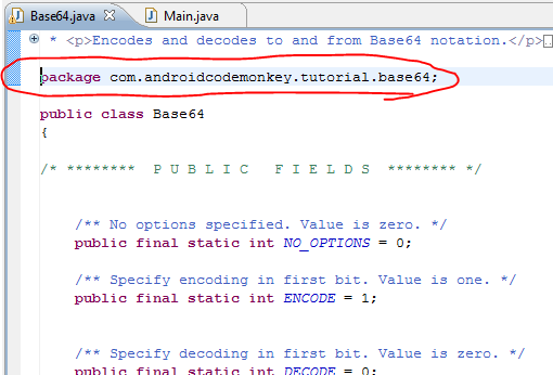 base64 decode android example